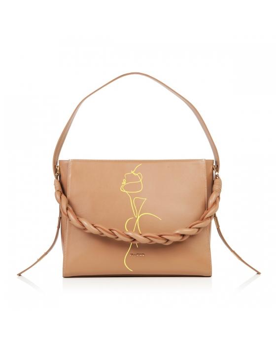 Amelia XL HandPainted 'FL Woman' Bag