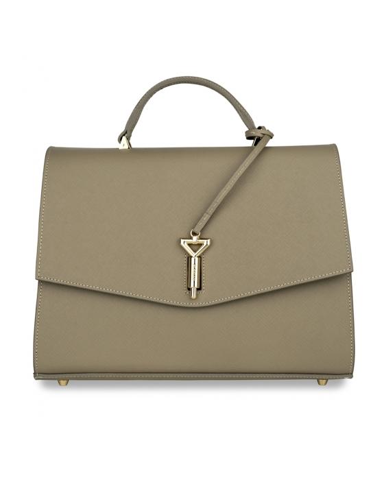 Vienna XL Crosshatch Leather