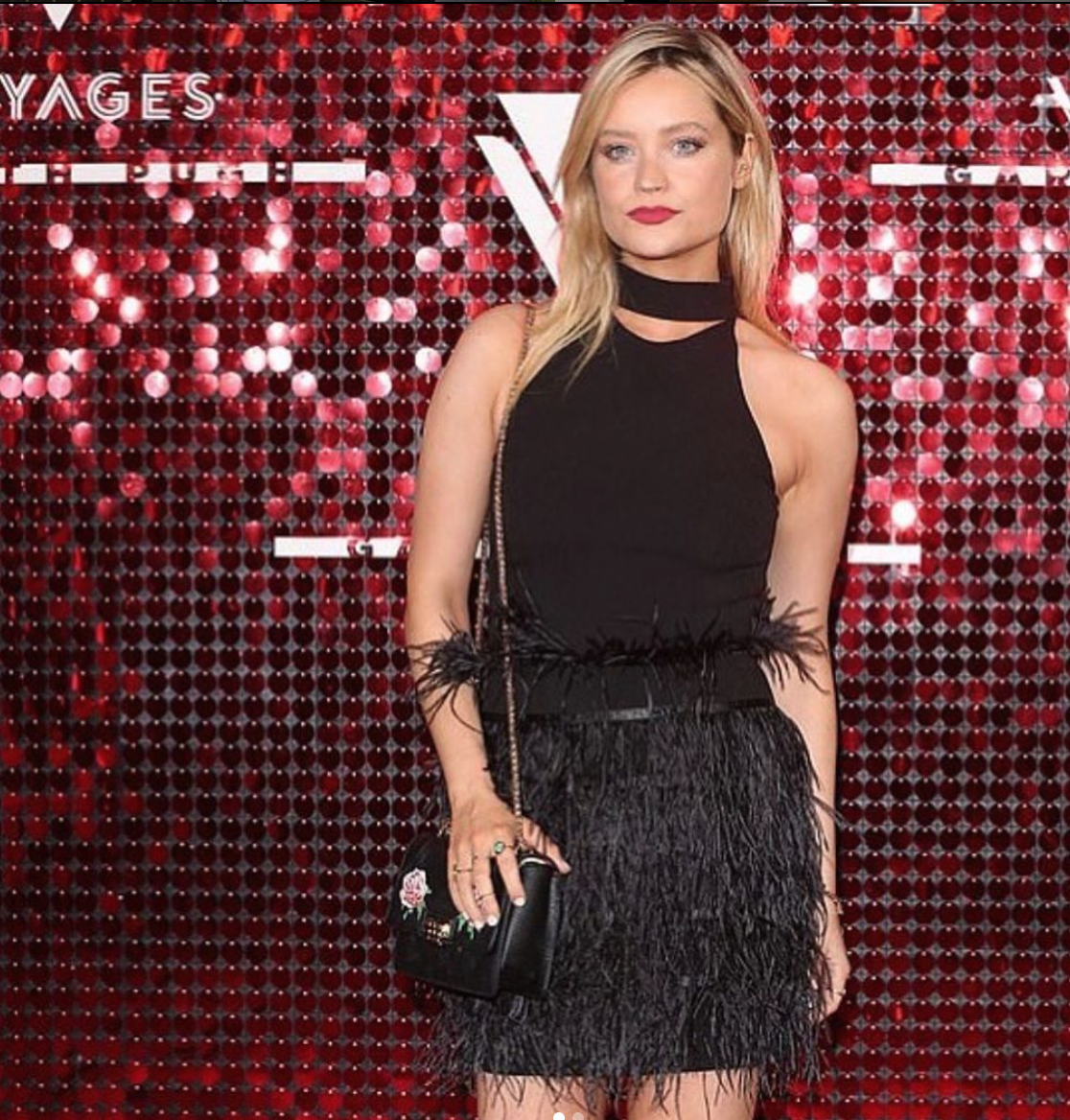 Laura Whitmore wears Florian